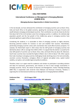 call for papers - ICMEM - Institut Teknologi Bandung