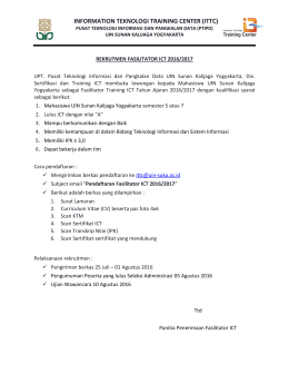 information teknologi training center (ittc)