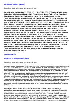 novel terjemahan best seller pdf gratis