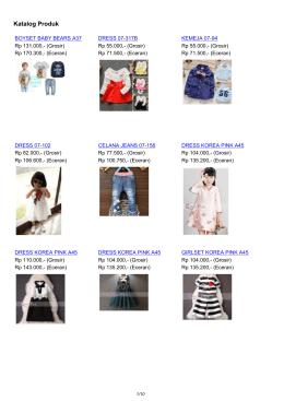 Katalog Batik Unik