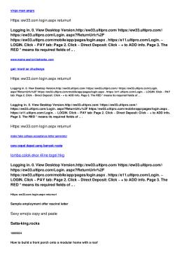 Https: ew33.com login.aspx returnurl
