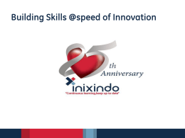 Building Skills @speed of Innovation