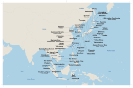 Asia ports map