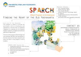 SPARCh 2016 Brochure - International Office