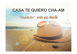 casa te quiero, cha-am beach, petchaburi, thailand
