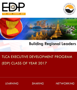 TLCA Executive Development Program