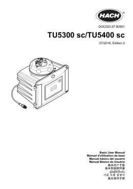 TU5300 sc/TU5400 sc