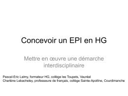 EPI Espagnols Aztèques 5ème - diaporama - format PDF
