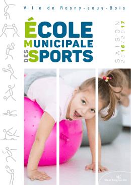SportS - Mairie de Rosny-sous-Bois