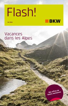 Vacances dans les Alpes
