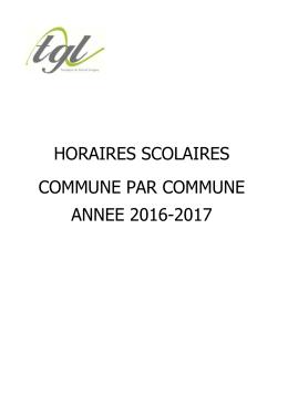 Année Scolaire 2016-2017 - Transport du Grand Longwy