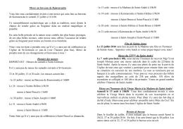 annonces - Saint-André de Kamouraska