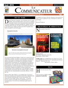 Journal AOÛT 2016-A.cdr - Municipalité de Hérouxville