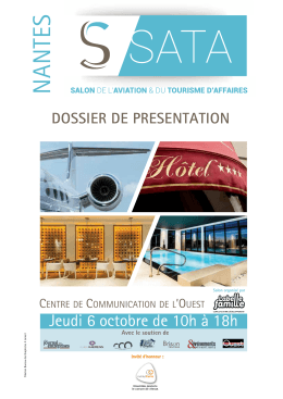 DOSSIER de PRESENTATION - SATA – Salon de l`Aviation et du
