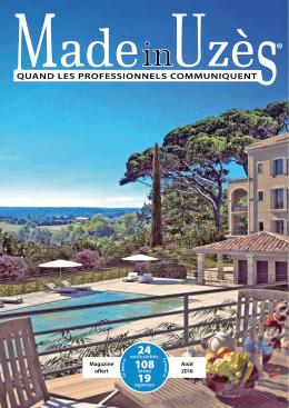Magazine offert Août 2016
