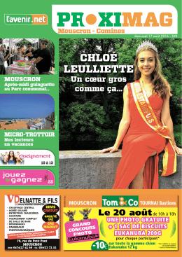 chloé leulliette - Proximag
