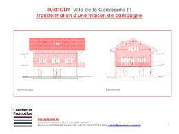 Dossier de vente - Constantin Promotion SA