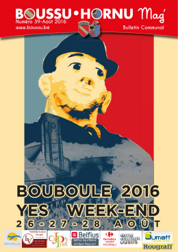 bouboule 2016 yes week-end