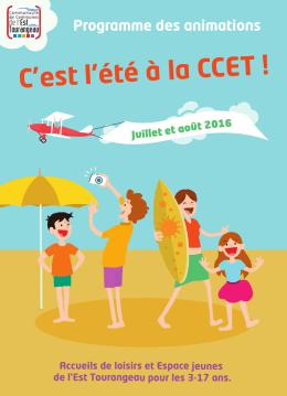 la plaquette de l`été 2016 - Azay-sur-Cher