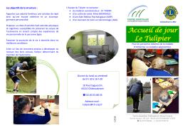 Accueil de jour Le Tulipier - CH Châteaubriant - Nozay