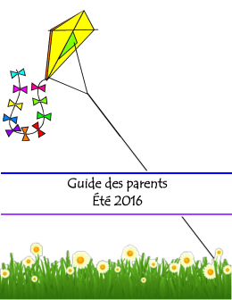Guide des parents 2016 palmarolle