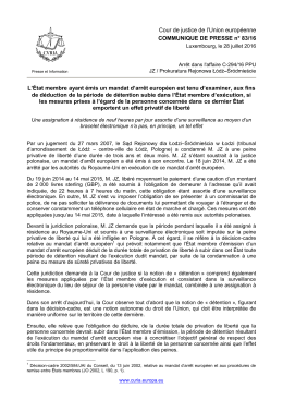 Lire le document - curia