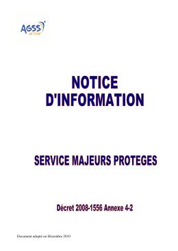 Notice d`Information