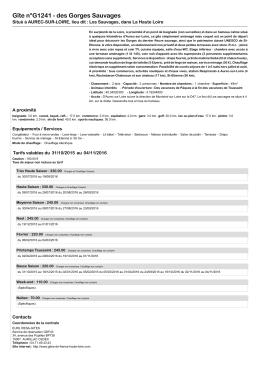 Version imprimable - Gîtes de France Haute