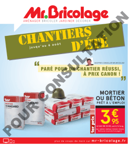 Catalogue PDF - Mr.Bricolage Lillebonne