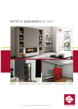 hottes et agencements en staff