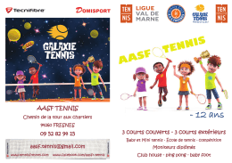 Doc ENFANTS - Tennis Club de Fresnes