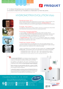 Hydromotrix Evolution Visio