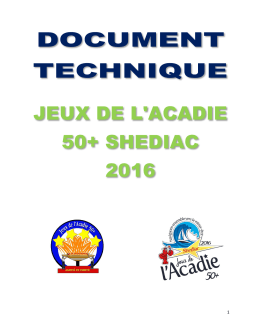 Document technique 2016 - Association francophone des aînés du