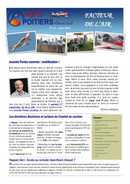 facteur de l`air - Aéroclub ASPTT POITIERS
