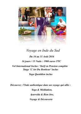 Voyage en Inde - Août 2016 - 14