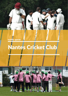 Magazine Nantes Cricket Club