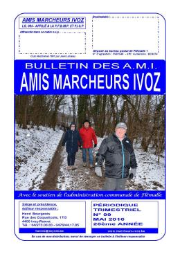 Votre périodique - Amis Marcheurs Ivoz