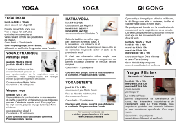 Yoga Pilates - Qi Dao