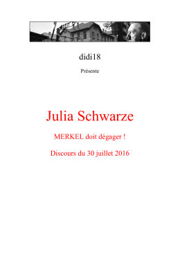 Julia Schwarze - Un grain de sable