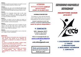 programme 2016/2017 - ecb