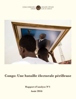 Congo: Une bataille électorale périlleuse