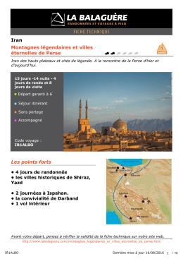 Iran Montagnes légendaires et villes éternelles de