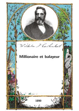 Millionaire et balayeur