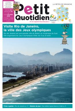 Le Petit Quotidien n°5039 du samedi 23 juillet 2016