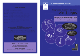 Lugny août - Moissy