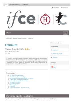 Fourbure - Les Haras nationaux