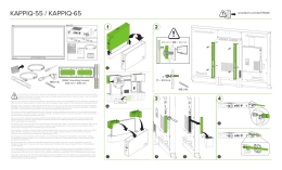 SMART kapp iQ 55 and kappiQ 65 installation guide