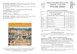 2016.08.14. Annonces 20e dim TO C.pub - abbaye-chaise