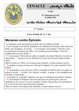 24/07 - Mission Chaldéenne en France