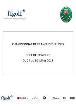 Dossier de la Ligue 2016